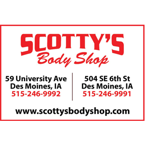 Our Sponsor: Scotty's Body Shop